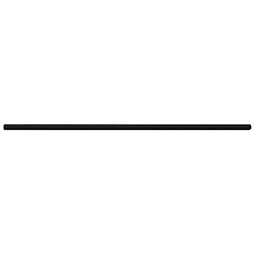 1-1/4 Inch x 10 Feet 3 Inch Black Chain Link Fence Top Rail