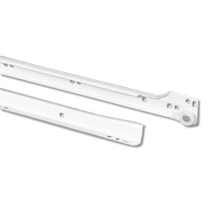 Coulisses tiroir 600MM - blanche