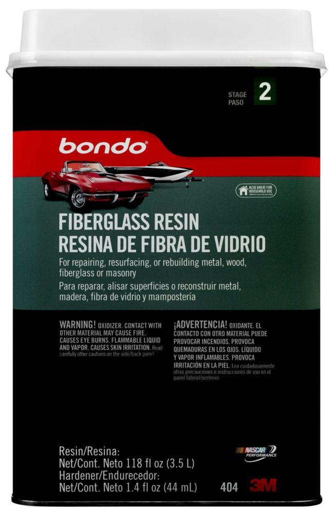 Bondo Fibreglass Resin The Home Depot Canada