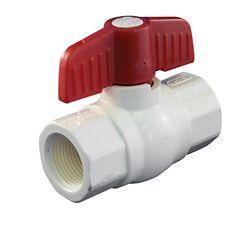 Aqua-Dynamic Robinet À Bille PVC Schedule 40 À Visser 1/2 Pouce