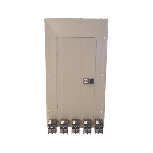 Eaton Cutler-Hammer 100A 20/40 Circuit Indoor Panel Package With Dnpl Breakers