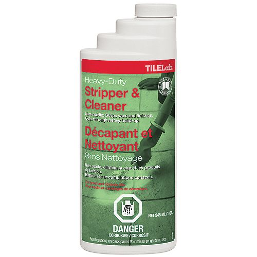 Custom Building Products TileLab Heavy-Duty Cleaner & Stripper - Quart