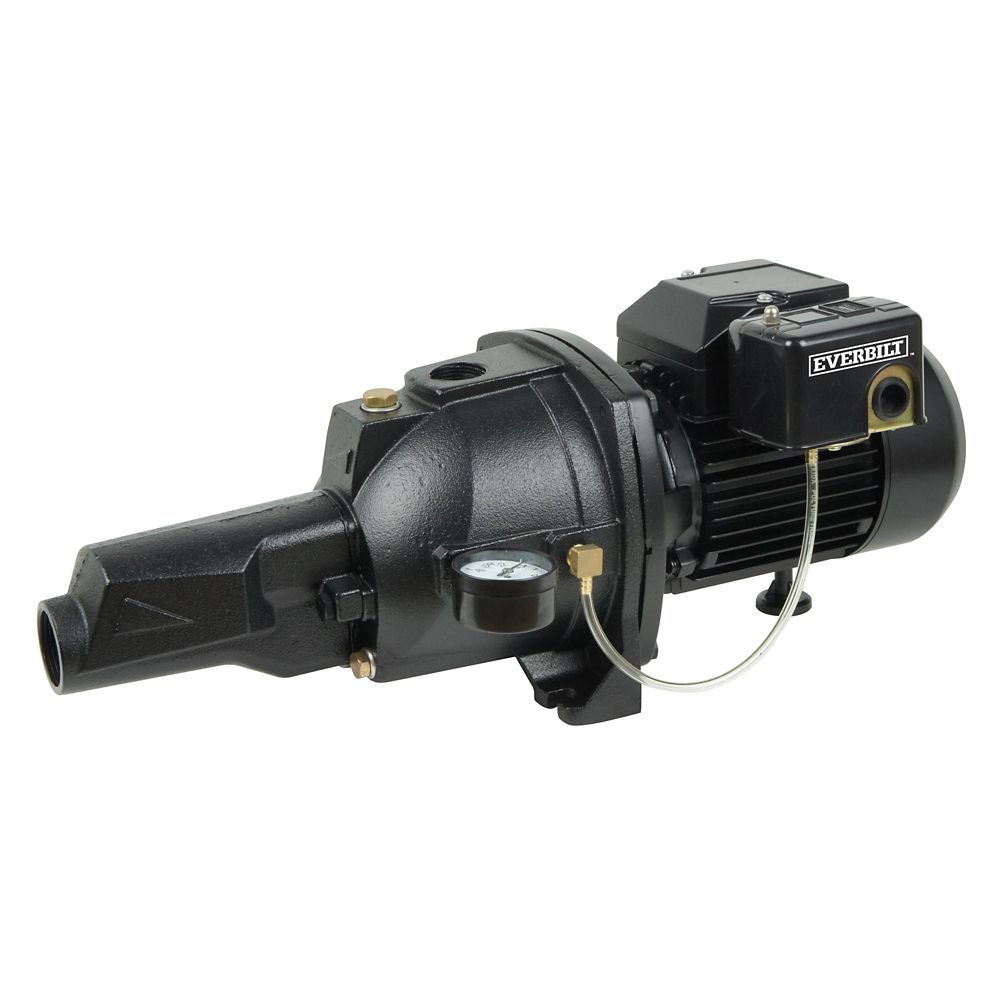 3/4 HP Cast Iron Convertible Jet Pump