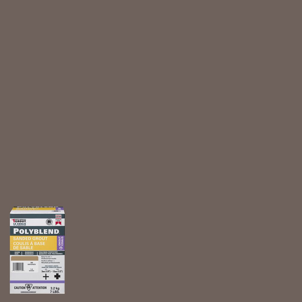 #185 New Taupe - Polyblend Sanded Grout - 7lb