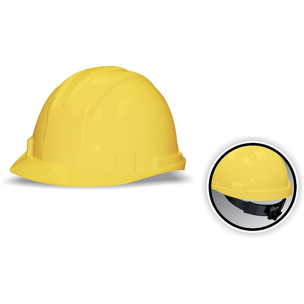 Workhorse CSA Approved Hard Hat Yellow