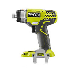 18-Volt ONE+ Cordless 3-Speed 1/4-Inch Hex Impact Driver  with Belt Clip (Tool Only)