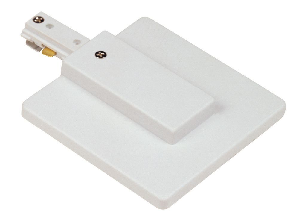 Live End with Cover Power Feed, White Finish