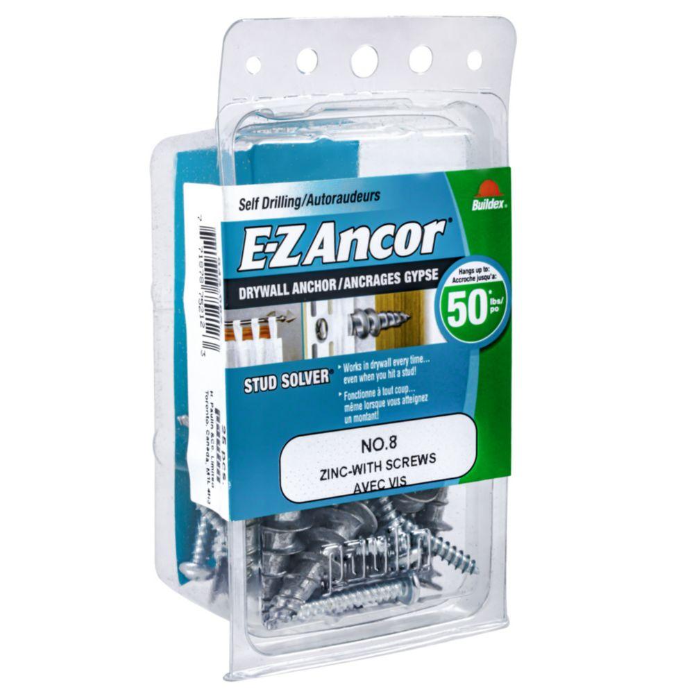 Fixations E-Z Ancor<sup>®</sup> #8 avec vis