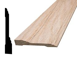 Alexandria Moulding Oak Base 7/16 In. x 2-15/16 In.