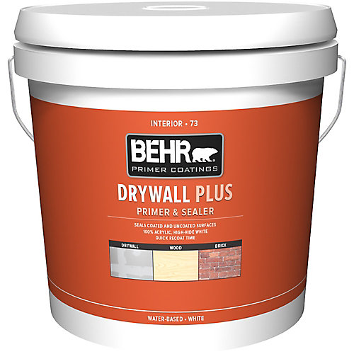 7.58L White Interior Drywall Primer & Sealer