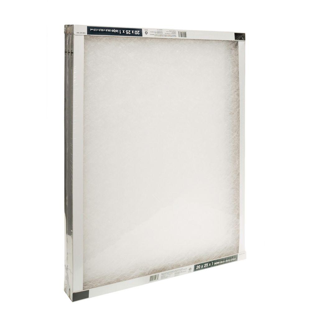 Fiberglass 3-Pack 20X25X1