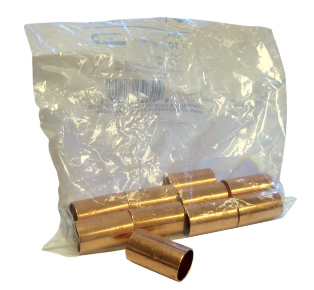 Fitting Copper Coupling 3/4 Inch (Pack of 10)