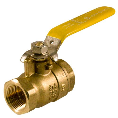 Aqua-Dynamic Ball Valve 1/2-inch Threaded Full Port