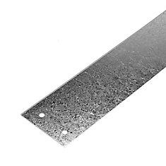 Courroie d'ancrage galvanisé - 1 pouce x 18 pouces