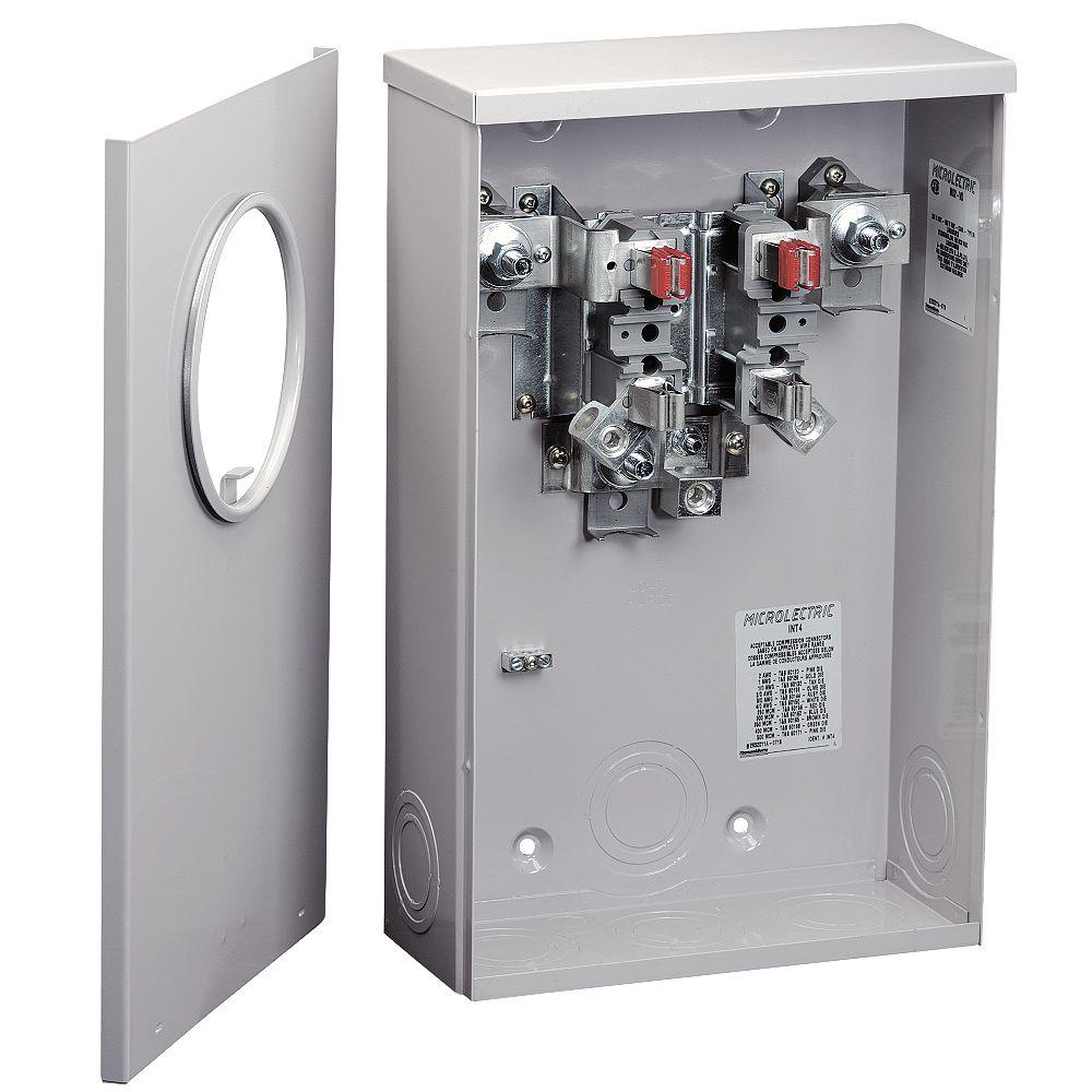 Microelectric Socle Compteur Sousterrain 200a