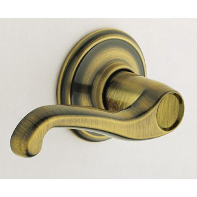 Decorative Trim (Non-turning Lever) For Left-hand Doors, Flair Antique Brass