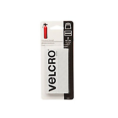 Velcro 4-inch x 2-inch Industrial Strength Strips 2 Pack