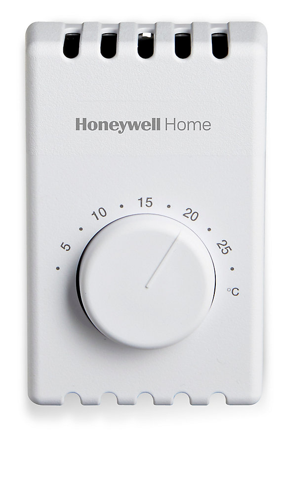 honeywell manual 2-wire electric baseboard heat thermostat