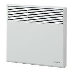 White Electric Panel Convection Heater  2000 Watt / 240 Volt