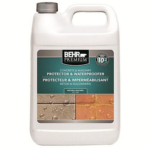 PREMIUM Concrete & Masonry Protector & Waterproofer, 3.79 L