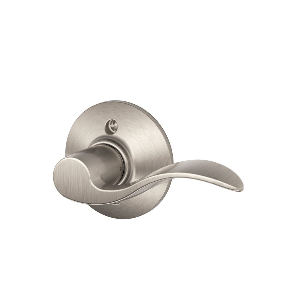 Satin Nickel Right Handed Accent Dummy Lever