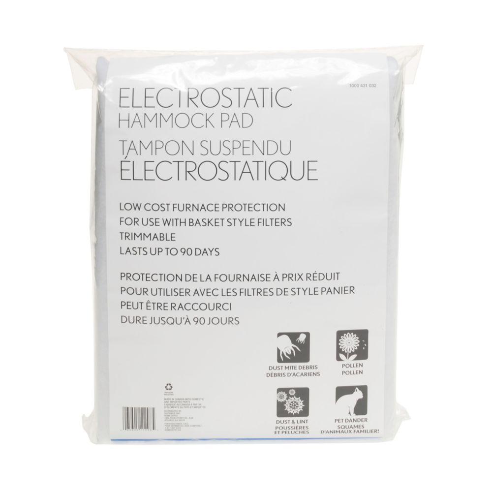 Electrostatic Hammock Pad 30X64