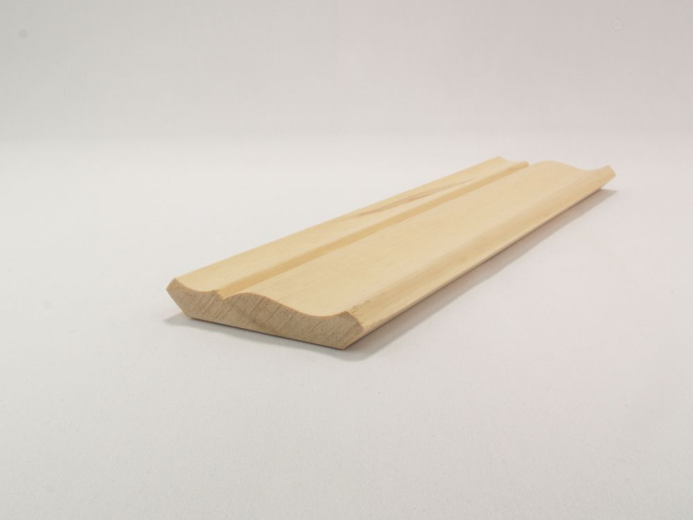 Solid Clear Pine Ogee/Crown 9/16 Inches x 3-1/8 Inches x 8 Feet