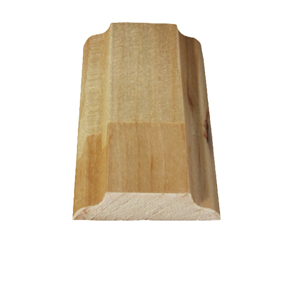 Finger Jointed Pine Parclose 5/16 In. x 1-11/16 In. x 8 Ft.