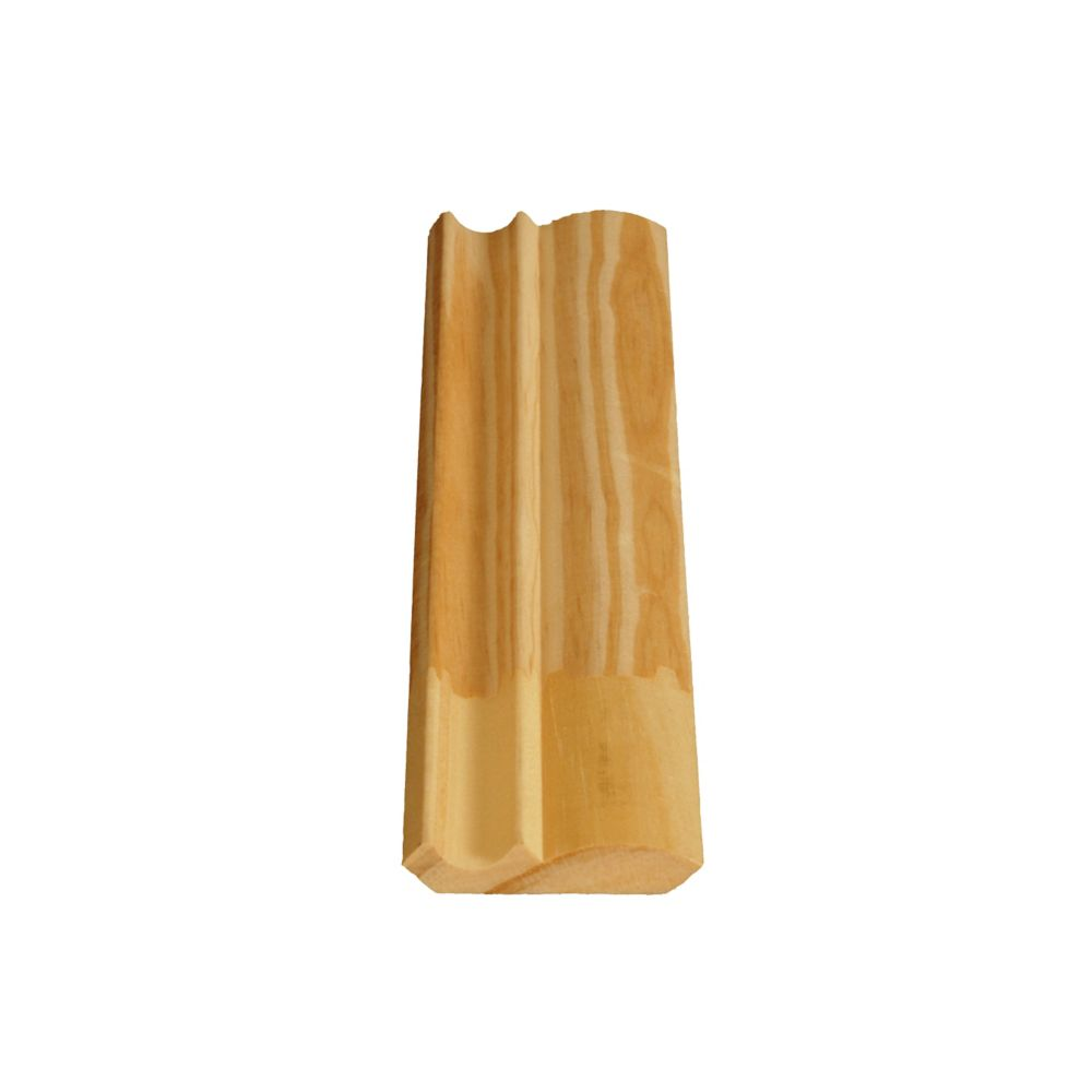 Finger Jointed Pine Ogee/Crown 7/16 In. x 2-1/8 In. x 8 Ft.