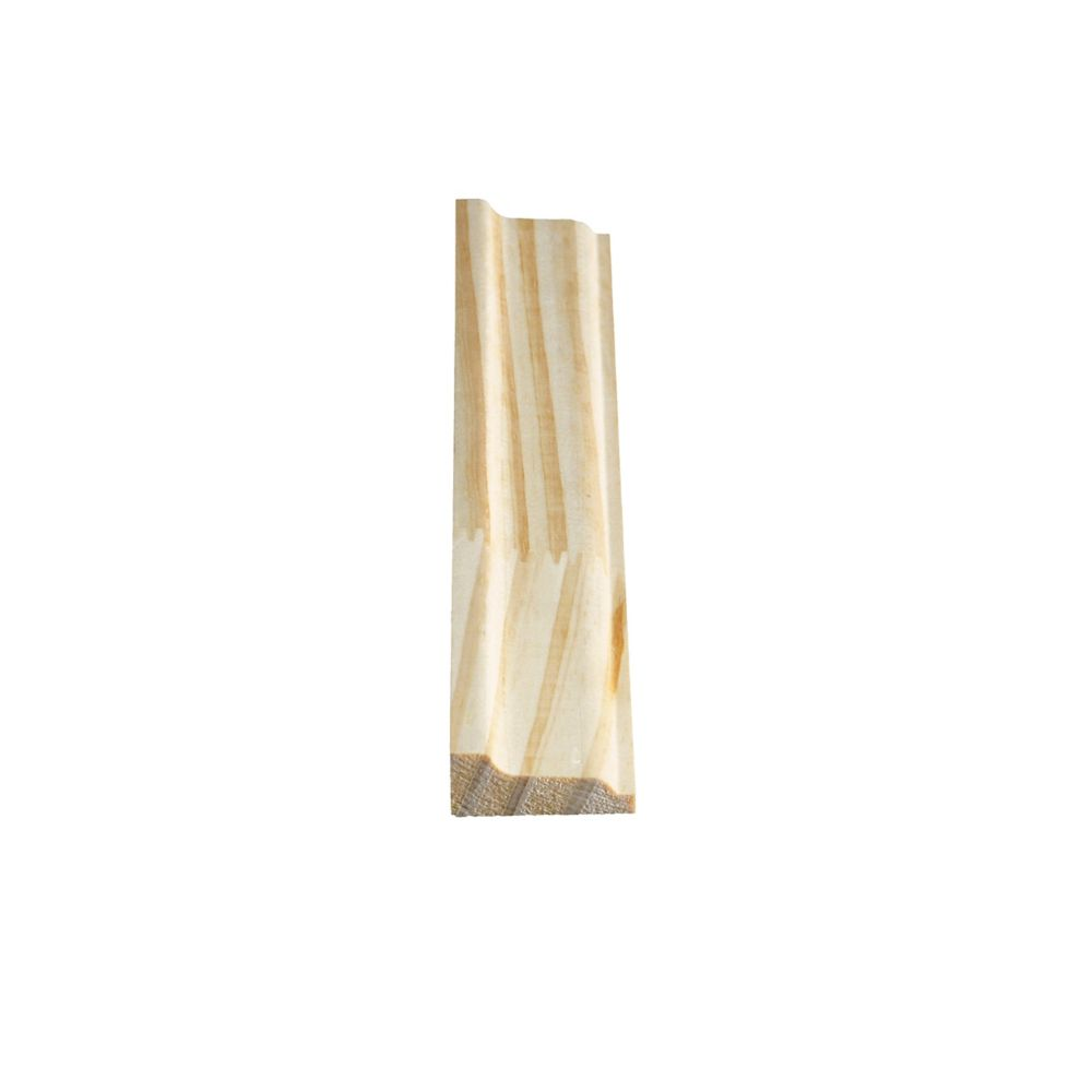 Finger Jointed Pine Panel Moulding 9/16 In. x 1-1/2 In. x 8 Ft.