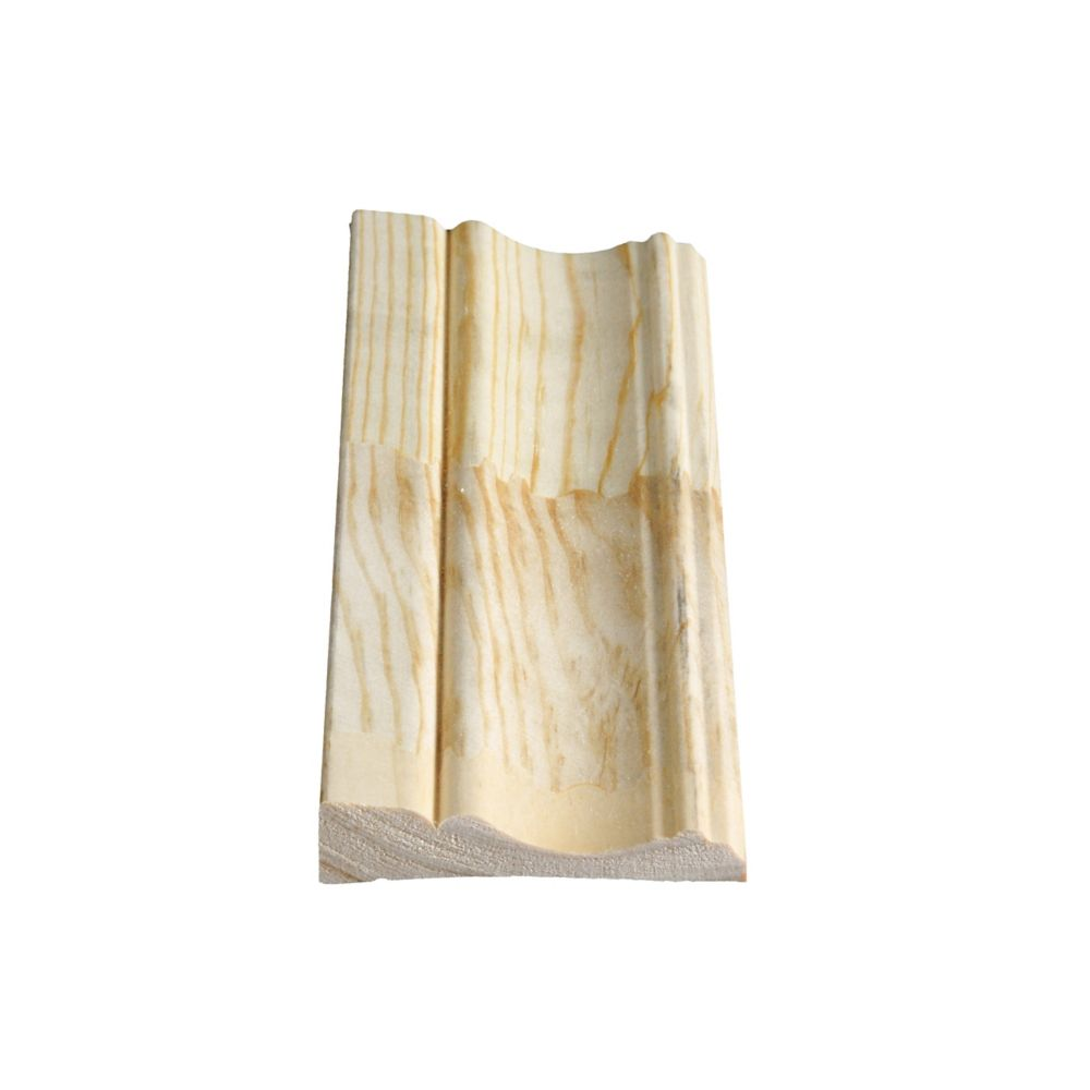 Finger Jointed Pine Colonial Casing 11/16 In. x 3-1/8 In. x 7 Ft.