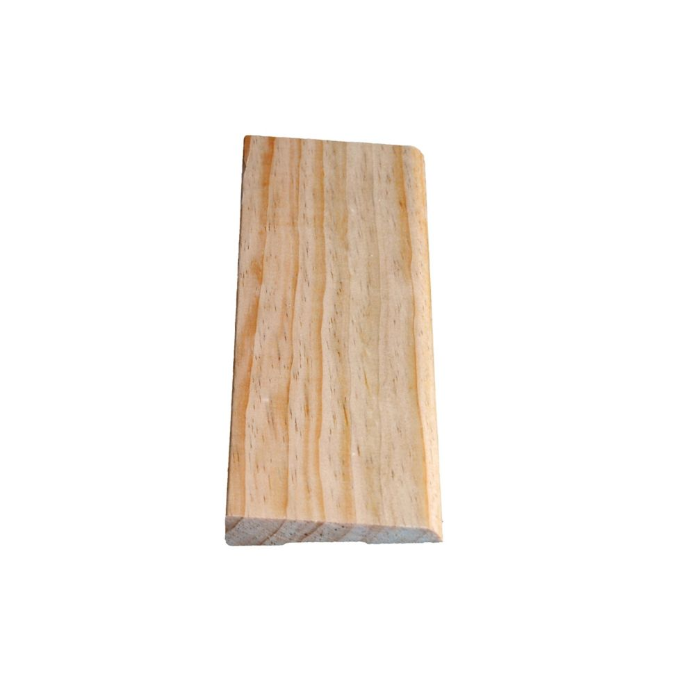 Solid Clear Pine Bevel Casing 7/16 In. x 2-1/2 In. x 8 Ft.