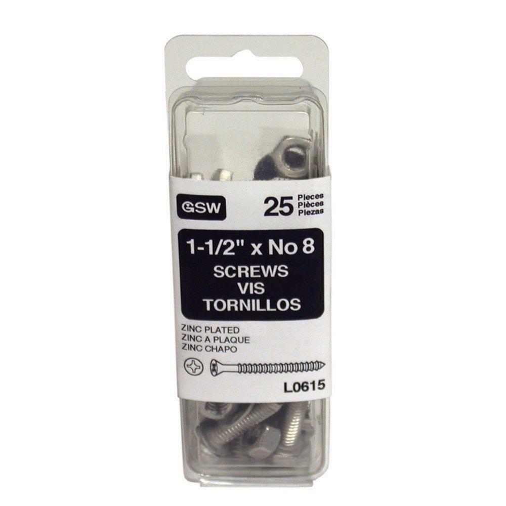 Rain Hardware,  1 1/2 Inch Zs 25/Pk