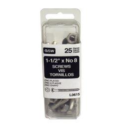 Euramax Canada Rain Hardware, 1 1/2 Inch Zs (25-Pack)