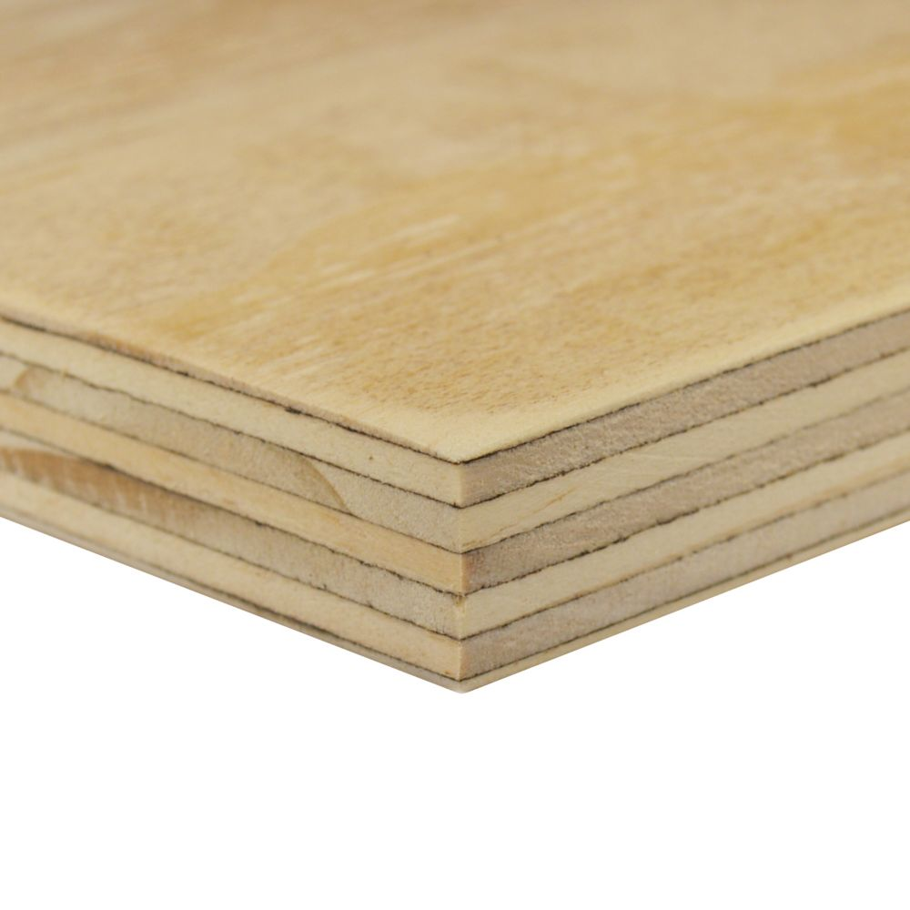 3/4 Inch  2 Feet x 2 Feet Sanded 1-side Douglas Fir Plywood Handy Panel
