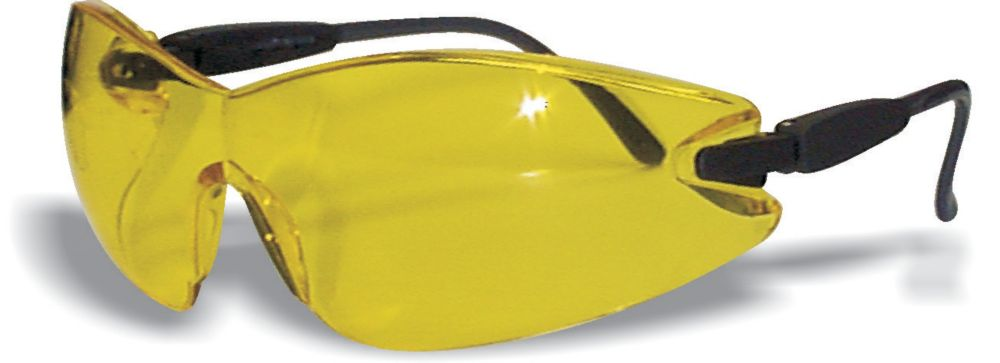 Frameless Safety Glass Amber Lens