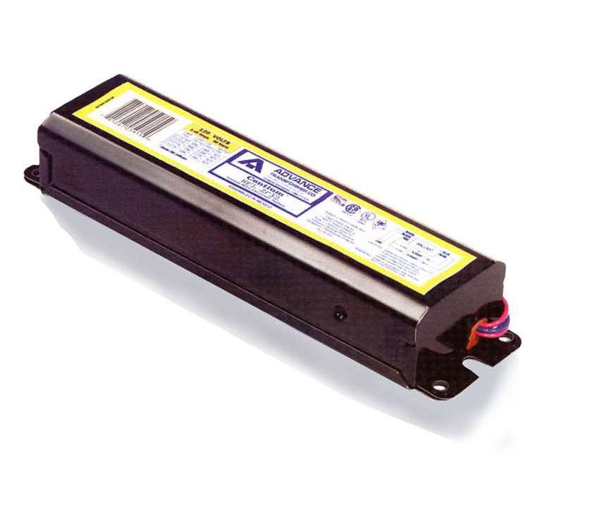 """Fluorescent Ballast 2 Lamp 48"""" T8 Instant Start 120V"""