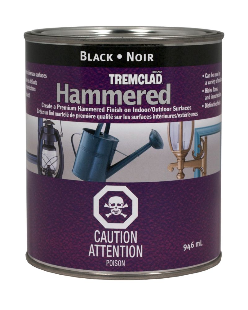 Hammered Finish - Black (946ml)