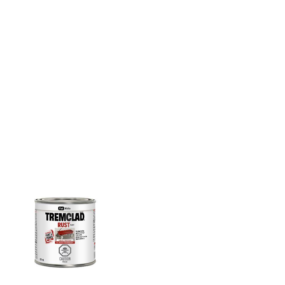 Peinture anti-rouille - Blanc mat (237ml)