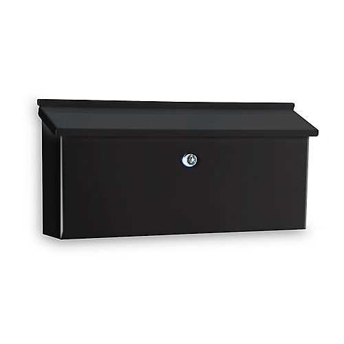 Ranch Lock Mailbox, Black