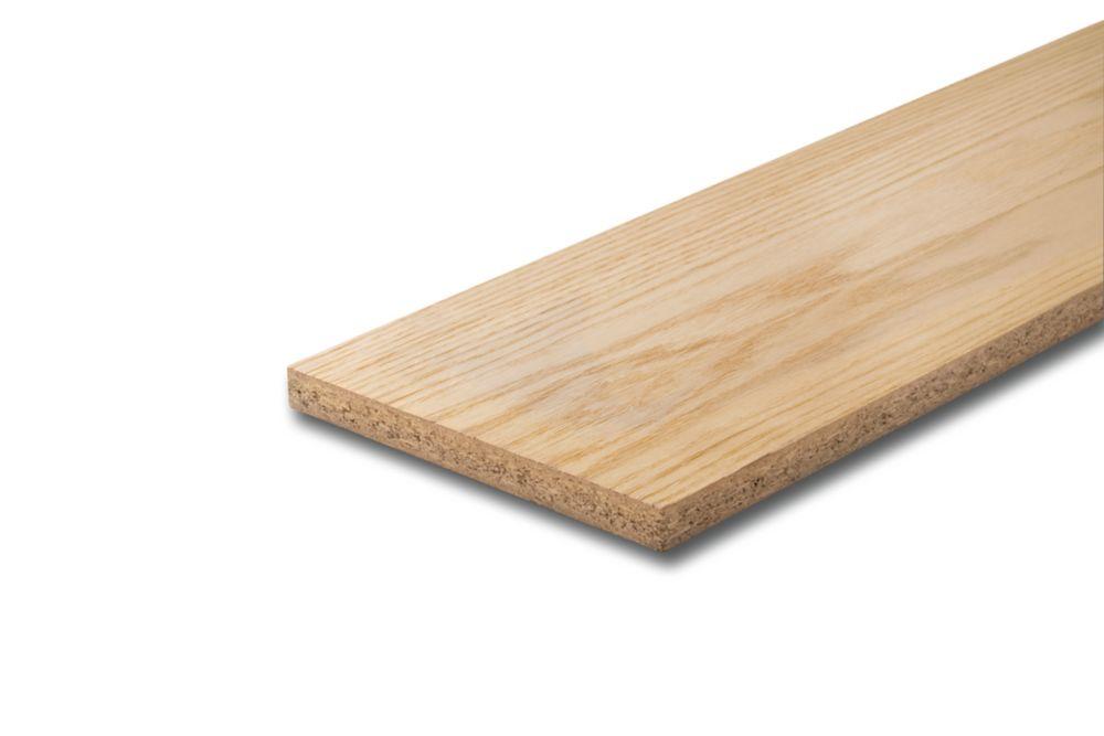 Oak Veneer Riser (Partical Core) 3/4 In. x 7-1/2 In. x 36 In.