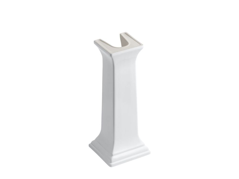 Memoirs Bathroom Sink Pedestal in White