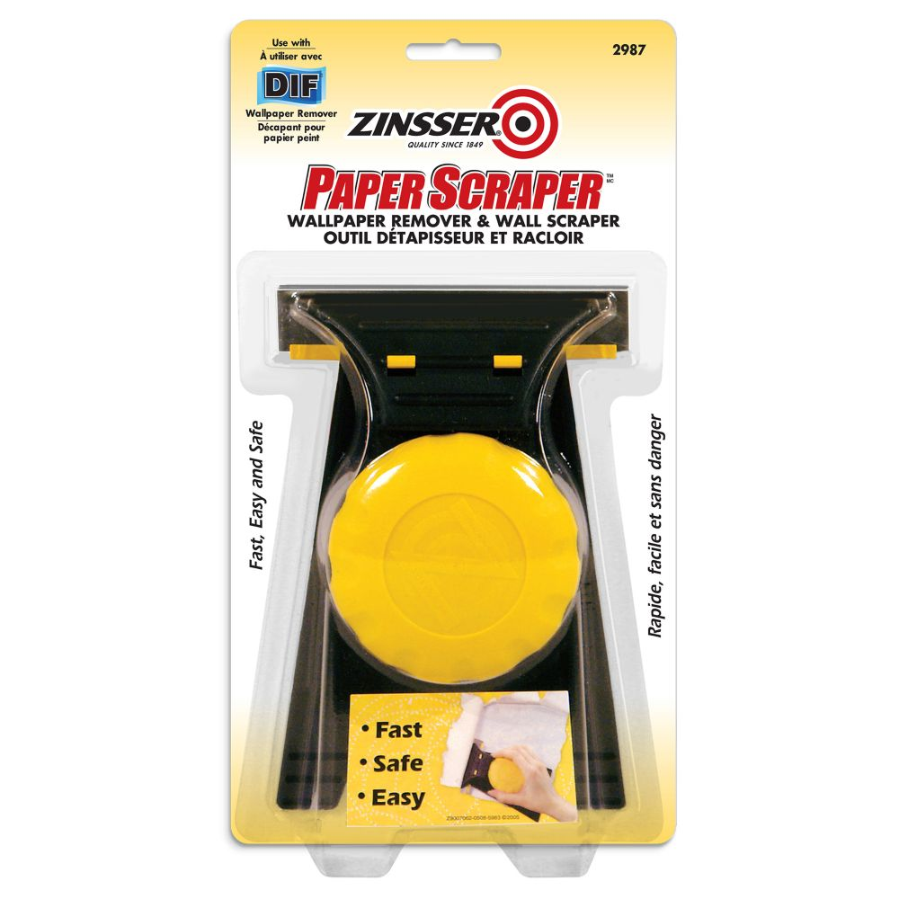 Zinsser Paper Scraper Wallpaper Remover Scraper The