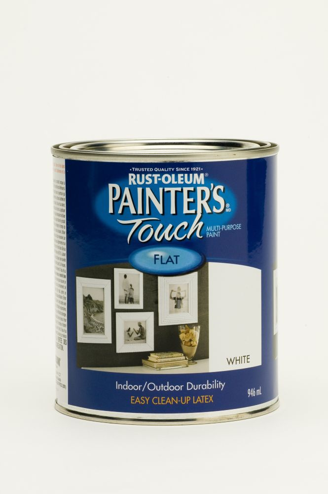 Painter's Touch Multi-Purpose Paint - Flat White (946ml)