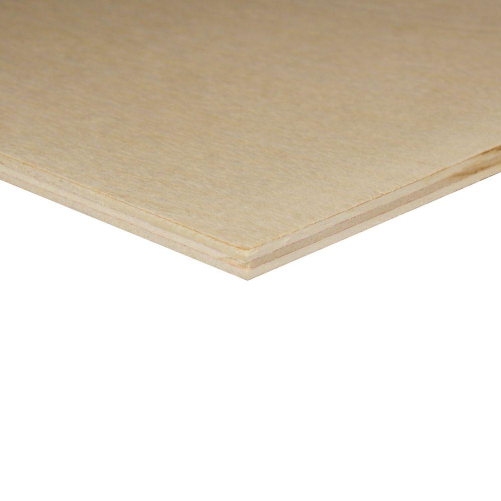 1/4 inch x 2 Feet x 2 Feet Birch Plywood Handy Panel