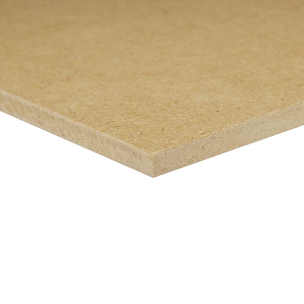 Panneau de fibres dures de 1/4pox24pox24po