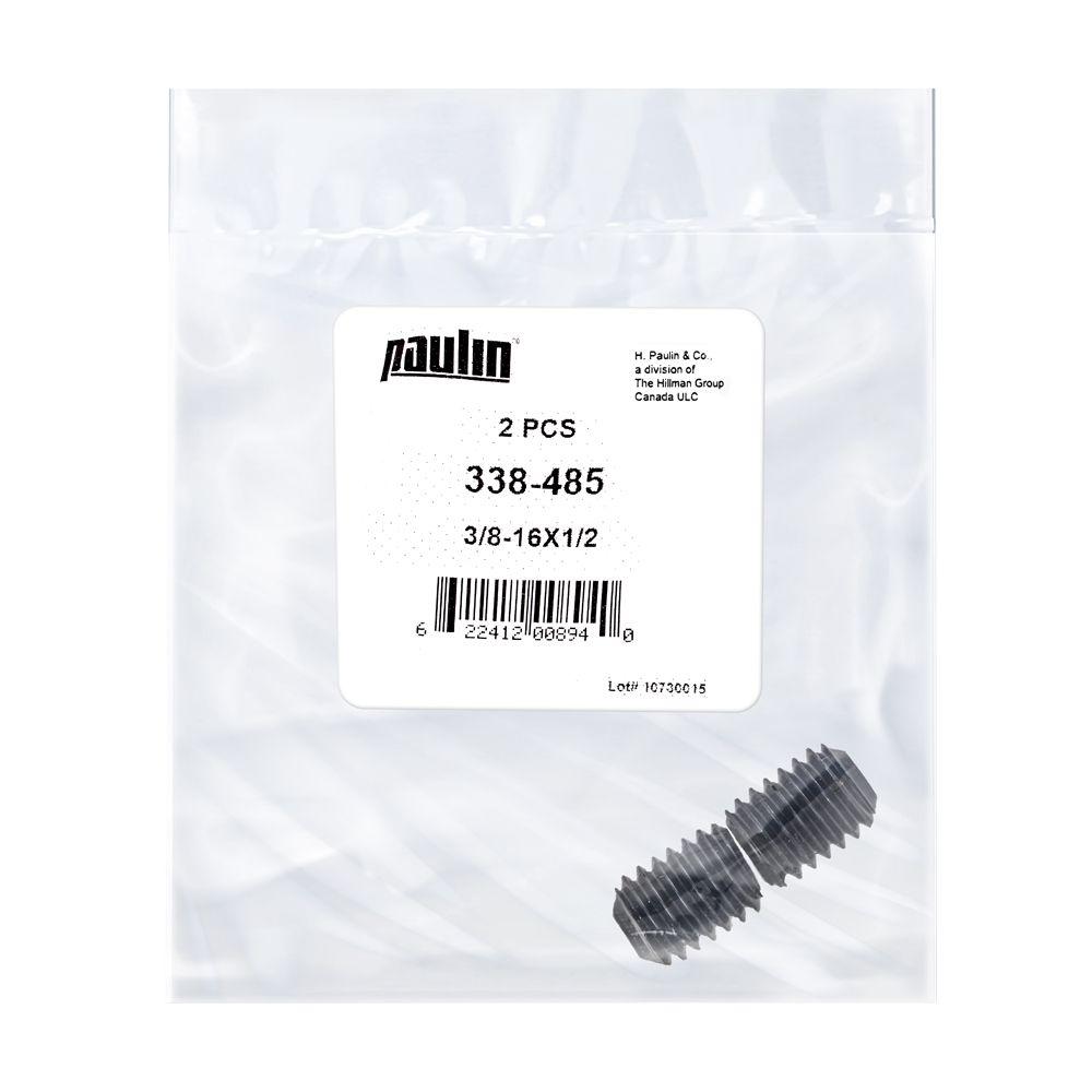 3/8X1/2 Socket Set Screw Unc Bag 2Pc