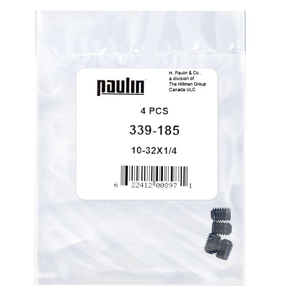 10-32X1/4 Socket Set Screw Unf Bag 4