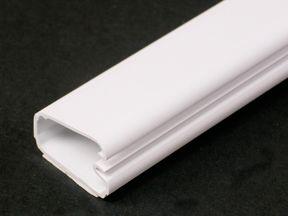 Plastic CordMate II Cord Channel White