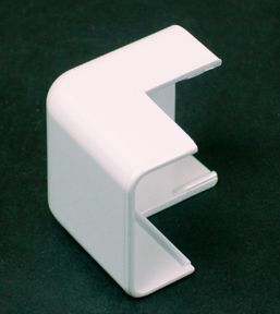 Plastic CordMate II Outside Elbow White
